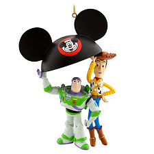 ornament story buzz and woody ear hat