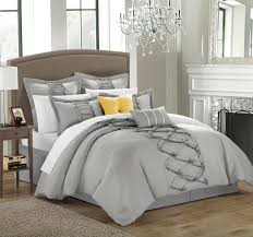 Twin Bedroom Sets Are They Beneficial Amazing Grey And White Comforter In A Good Room Of Great Grey And