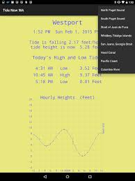 Puget Sound Tide Table Tide Now Wa Washington Tides Sun And Moon Times Android Apps