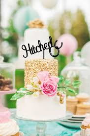 hitched horseshoe country wedding cake topper custom cake topper