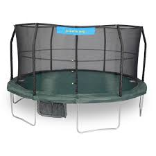 jumpking 14 ft trampoline enclosure combo jk1466c2 the home depot