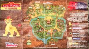 Adventure Map Lion Guard Adventure Map My Strange Family