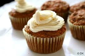 eggless carrot cupcakes recipe with mascarpone cheese frosting