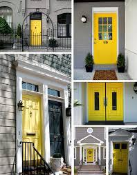 40 exemples de portes d u0027entrées colorées front doors doors and