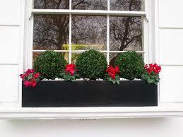 Black Planter Boxes by Window Planter Box Type U2014 Home Ideas Collection Wonderful