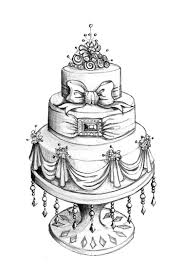 drawings of wedding cakes wedding dress pinterest drawings