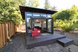 Studio Trends Desk by Studio Shed Photos Modern Prefab Backyard Studios Home Office