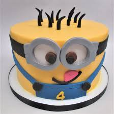 minion birthday cake minion birthday cake by flavor cupcakery picture of flavor