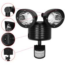 Led Light Bulbs Ebay by Amos 22 Led Solar Powered Pir Motion Sensor Security Light Garden