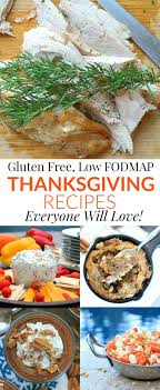 gluten free low fodmap thanksgiving recipes everyone will