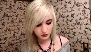 how to cut emo scene hair bangs youtube