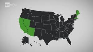 Marijuana Legalization Map Where Pot Is Legal Cnnmoney