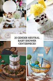 neutral baby shower decorations 20 gender neutral baby shower centerpieces shelterness