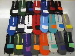 nike elite cushioned crew basketball socks sx3693 choose color