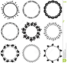 halloween clipart circle pencil and in color halloween clipart