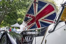 Car Bonnet Flags B C Festival Celebrates The Joy And Frustration Of Classic