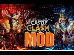 game castle clash mod apk castle clash mod youtube