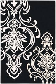 Damask Area Rug Black And White Rug Outlet Area Rugs Rug Outlet Rug Clearance