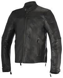 alpinestars brera leather jacket revzilla