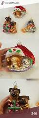 Christmas Ornaments Dogs Radko Glass Christmas Ornaments Dogs Cats Pets