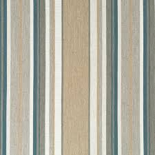 Upholstery Fabric Striped Dark Teal And Taupe Upholstery Fabric By The Yard Contemporary