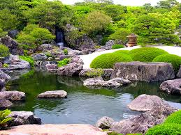 Japanese Rock Gardens Pictures by Japanese Rock Garden Style With Waterfall Http