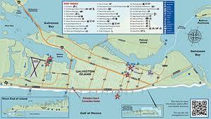 map of galveston galveston com galveston area maps and directions