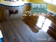 refinishing floors easy way diy high gloss