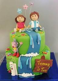 58 best cakes sponge bob u0026 dora the explorer images on pinterest