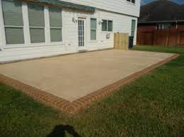 designing and building custom concrete patios and patio covers for