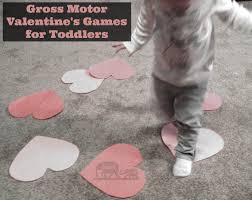 gross motor valentines activities for toddlers