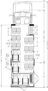 ameritrans 285 shuttle bus floorplans 16 10 passengers 4wc