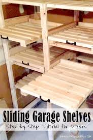 Wood Shelving Plans For Storage by Great Plan For Garage Shelf Do It Yourself Home Projects From