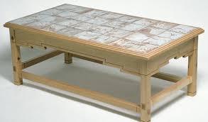 tile top coffee table tile top coffee table finewoodworking