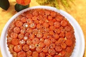 cuisine auvergne recette de tatin de carottes au bleu d auvergne la recette facile