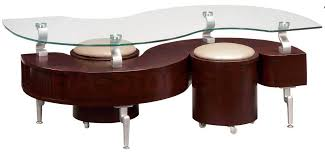 S Shaped Desk 232 20 S Shaped Coffee Table In Mahogany With Beige Global
