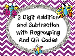 on the go teacher mama 3 digit addition and subtraction task