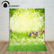 easter backdrops aliexpress buy allenjoy easter background eggs grass