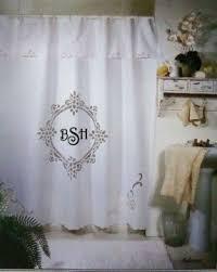 cotton vintage shower curtain foter