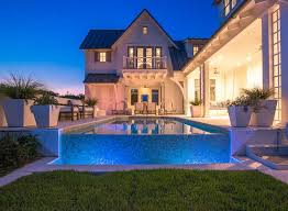 Back Yard House Best 25 Infinity Pool Backyard Ideas On Pinterest Infinity