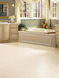 Large Bathroom Tiles In Small Bathroom Vinyl Low Cost And Lovely Hgtv