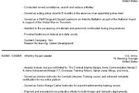 Infantry Resume Examples by Law Enforcement Resume Examples Reentrycorps