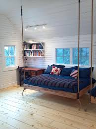 bedroom spacious double hanging beds for twin bedrooms with