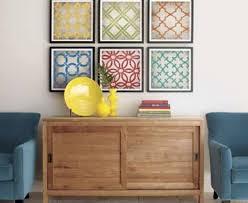 frame fabric wall art diy cheap wall decor creative home