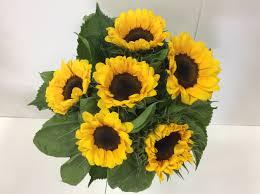 bouquet of sunflowers sunflower bouquet flower wholesalers takapuna