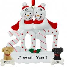 couples with dogs ornaments ornaments for you