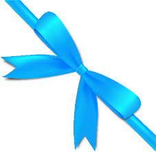 black and blue ribbon light blue bow ribbon icon2 vector data svg vector