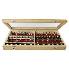 bosch router table lowes shop skil 30 piece router bit set at lowes com