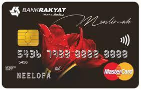 credit card i bank rakyat