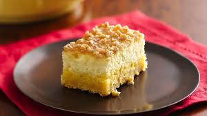 crème brûlée cheesecake bars recipe bettycrocker com